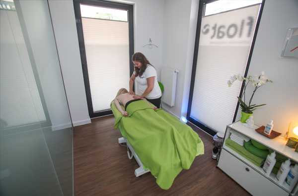 float Hannover Floaten und Massage